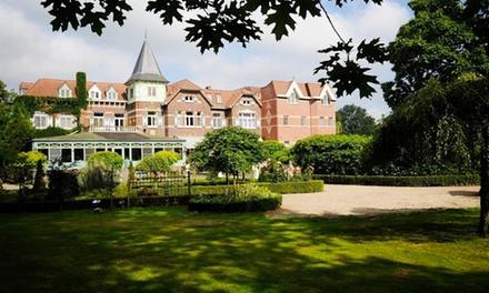Flandern: 2 bis 4 Tage für Zwei mit Frühstück und 1x Flasche Wein auf dem Zimmer im 4* Kasteel Wurfeld Schlosshotel