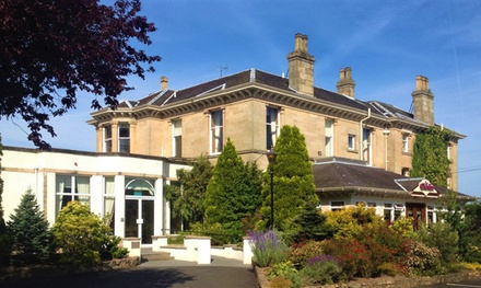 Falkirk: 1 or 2 Nights for Two with Breakfast, Wine and Dinner at the 4* Grange Manor Hotel