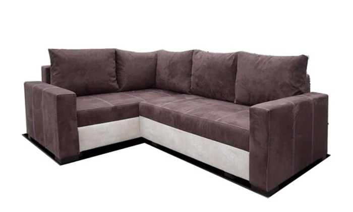 eck sofa cotangens groupon goods. Black Bedroom Furniture Sets. Home Design Ideas