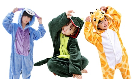 Kinder-Onesie in Tieroptik im Modell und in der Größe nach Wahl