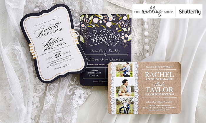 50 Off Custom Wedding Invitations From The