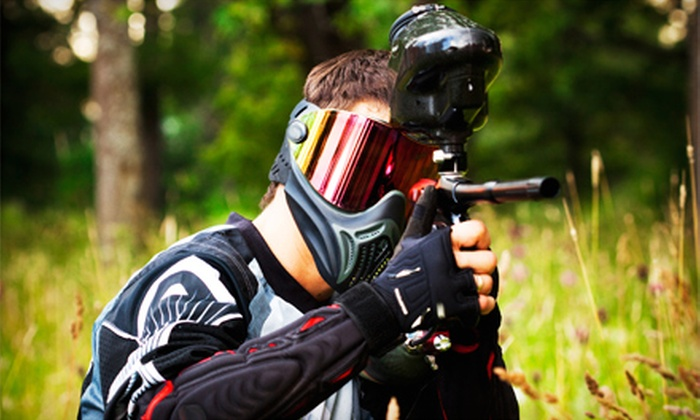 Midway Paintball Facility - Vacaville: All-Day Paintball Outing for Five or Admission for Up to Six at Midway Paintball Facility in Vacaville (Up to 83% Off)