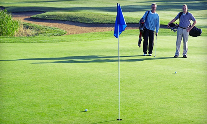 Pine Brook Country Club - Pinebrook Country Club: Golf Outing with Cart and Range Balls for Two or Four at Pine Brook Country Club (Up to 57% Off)