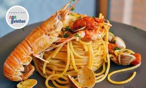 Ristorante Pizzeria Antica Trattoria Da Marion: Menu gourmet di mare con vino per 2 o 4 persone alla Trattoria Da Marion sul lungomare Senigallia (sconto fino a 66%)