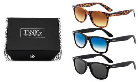Set di 3 occhiali Twig Concept Milano disponibili in 3 modelli