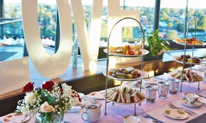 Cucina Locale Revolving Restaurant: From $49 for High Tea with Sparkling Wine at Cucina Locale Revolving Restaurant (From $98 Value)
