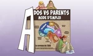 Comédie des Suds: 2 places pour ''Ados vs parents, mode d'emploi'', les samedis de janvier et février 2018 à 22 € à La Comédie Des Suds