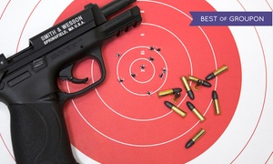 Up to 55% Off Shooting-Range Outings at Shoot Smart, plus 6.0% Cash Back from Ebates.