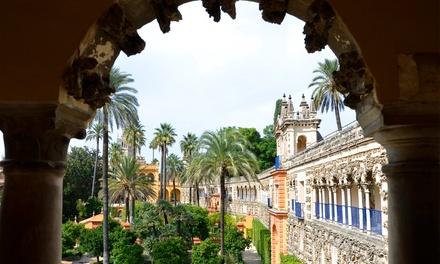 Tour en coche eléctrico por Sevilla guiado con GPS a elegir para 2 o 4 personas desde 24,99 € conGps Seville Tour