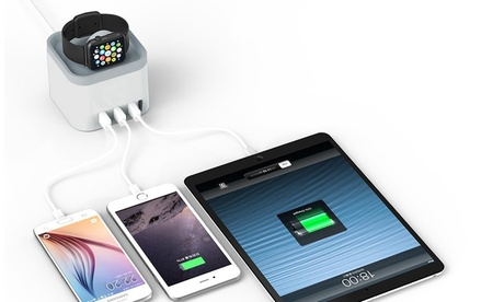 Waloo Charging Dock with 3 USB Ports for Apple iPhone and Watch 2c1583ca-5041-11e7-b480-00259060b5da