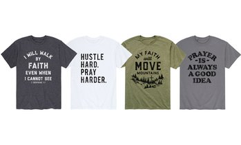 Solid Light: Men's Have Faith Christian Tees (S-3XL)