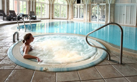Spa Day with a Choice of Two Treatments and Refreshments at Moor Hall Hotel and Spa
