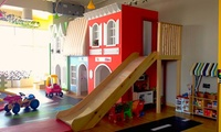 One- or Three-Hour Unsupervised Playground Pass with Optional Face Painting and Popcornat Fantasy Town Play Lounge