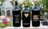 Celebration Cellars @ Miramonte Winery: One or Two Personalized 1.5-Liter Wine Bottles from EtchedWine.com (Up to 64% Off)