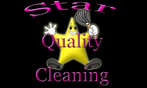 Star Quality Cleaning: Up to 67% Off 2 or 3 Hours of House Cleaning at Star Quality Cleaning
