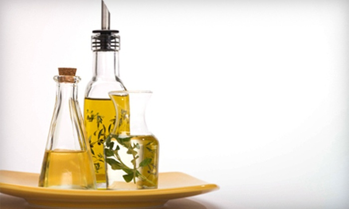 Di Olivas - Multiple Locations: $15 for $30 Worth of Gourmet Oils at Di Olivas