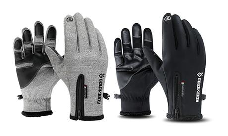 1 ou 2 paires de gants tactiles chauds et imperméables