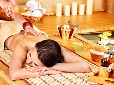 massage with finish Garland, Texas