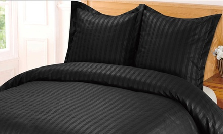 housse de couette hotel groupon shopping. Black Bedroom Furniture Sets. Home Design Ideas