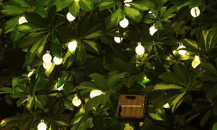 Luci da giardino a energia solare groupon goods