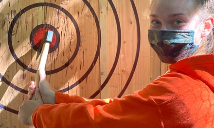 $50 for One 60-Minute Axe-Throwing Session for One at The Adventure Park ($70 Value)
