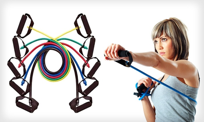 "ProSource Resistance-Band Sets: $24 for Five 48"" or Three Xtreme ProSource Latex Resistance Bands (Up to $37.99 List Price). Free Shipping and Returns."