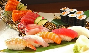 Mizuki Sushi: CC$10 for CC$20 Worth of Sushi and Japanese Cuisine for Two or More at Mizuki Sushi