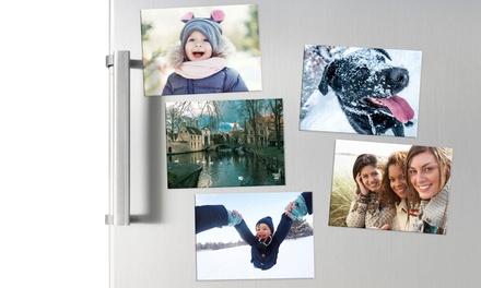 Sets van 5 tot 30 gepersonaliseerde fotomagneten voor de koelkast, formaat naar keuze, vanaf € 4,99 tot korting
