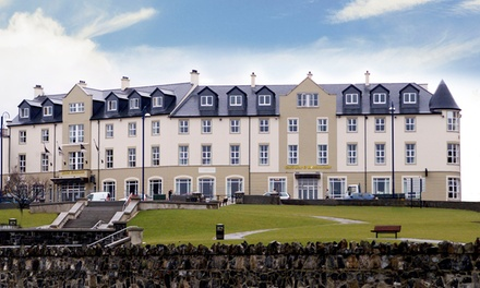 Co. Antrim: 1 or 2Night Stay for Two at Portrush Atlantic Hotel