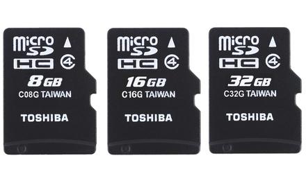 Toshiba microSDHC from £1.99