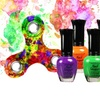 Neon Nail Polish with Free Fidget Spinner