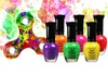 Neon Nail Polish with Free Fidget Spinner: Neon Nail Polish with Free Fidget Spinner