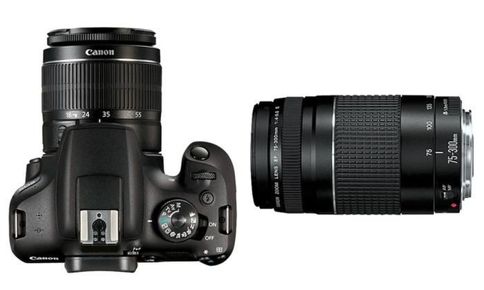 Canon Rebel T7 Lenses