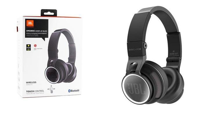 13f40236451 JBL Synchros Wireless Bluetooth Stereo Headphones | Groupon