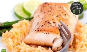 Brócolis Restaurante e Cafeteria: Tílápia ou traíra + acompanhamentos no Brócolis Restaurante e Cafeteria – Planalto