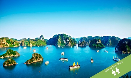 Vietnam: From $669 Per Personfor a 10-Day Getaway with Internal Flights, Transfers, Meals and Tours