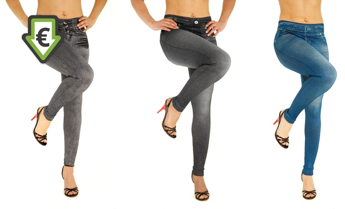 Three-Pack of Jeggings in Choice of Sizes for €16.99 (58% Off)