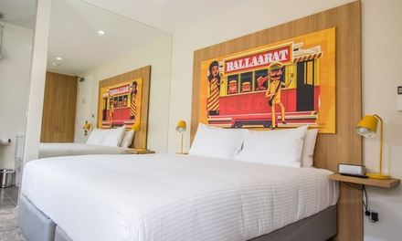 Ballarat: 1-3 Nights for Two with Wine, Early Check-In, Late Check-Out and Optional Breakfast at Mercure Ballarat