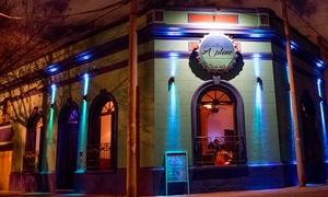 A Pleno Resto Bar: Desde $145 por entrada y pizza a elección + cerveza para dos o cuatro en A Pleno Resto Bar