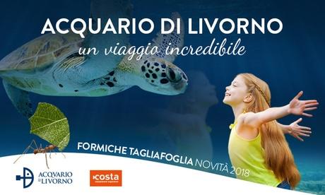 Acquario di Livorno - Ingresso per una persona (sconto 29%)