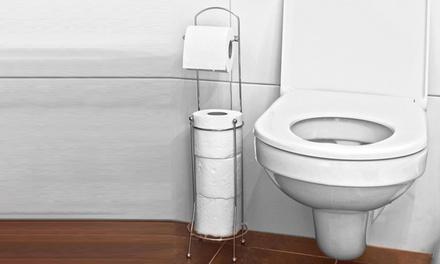 Free-Standing Toilet Roll Holder