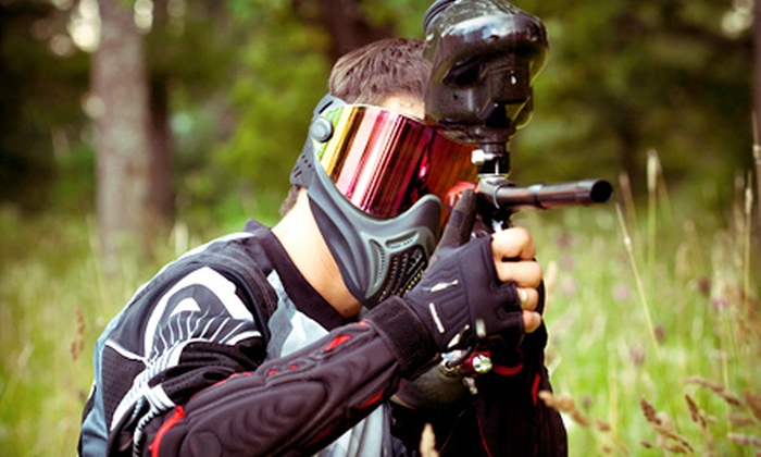 PaintballTickets.ca: 5 or 10 Paintball Outings at Participating Fields from PaintballTickets.ca (Up to 58% Off)