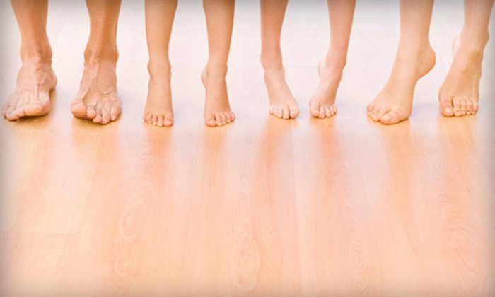 Elite Foot Care of Texas, Inc. - Missouri City: Laser Nail-Fungus-Removal or Heel-Pain Treatments for One or Both Feet at Elite Foot Care of Texas Inc. (Up to 79% Off)