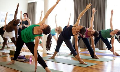 $44 for One Month of Unlimited Classes at Breathing Room <strong>Yoga</strong> Center ($125 Value)