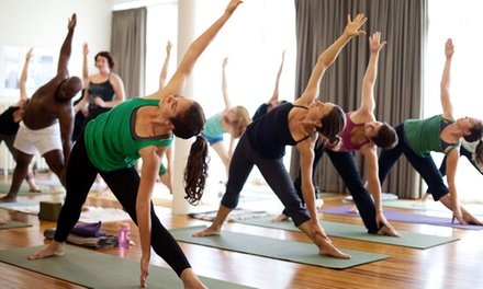 $47 for One Month of Unlimited Classes at Breathing Room Yoga Center ($125 Value)