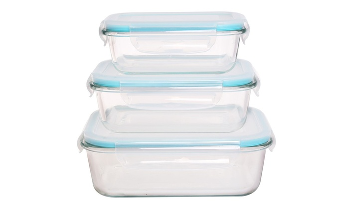 Charmant Genicook Oven Safe Glass Food Storage Container Sets (18  Or ...