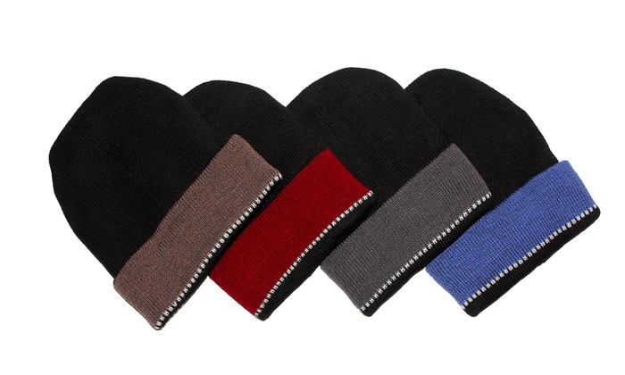 Insulated Winter Hats (4-Pack)
