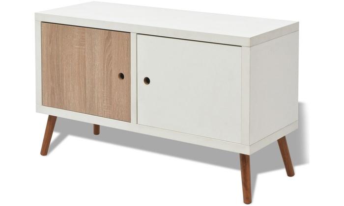 Muebles de sal n estilo n rdico groupon goods - Muebles salon estilo nordico ...
