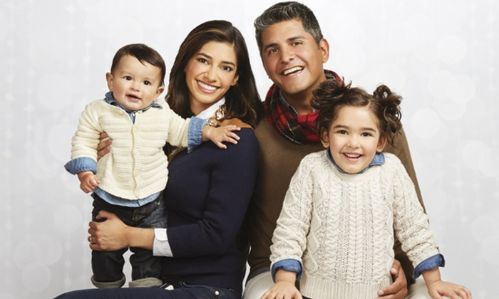JCPenney Portraits - Multiple Locations: Portrait Package with Three-Image CD and Prints, Photo Cards, or Gallery Wrap at JCPenney Portraits (Up to 88% Off)