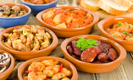 Tapas Lunch or Dinner for Two or More People at Lyon Tapas Bar (Up to 45% Off)